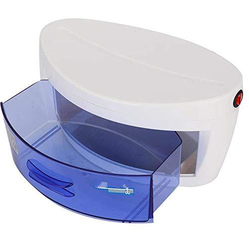 Esterilizador UV profesional Caja del esterilizador para Manicura Peluquería, Manicura y Pedicura,teléfonos móviles,cepillos de Dientes (SD74, AZUL)