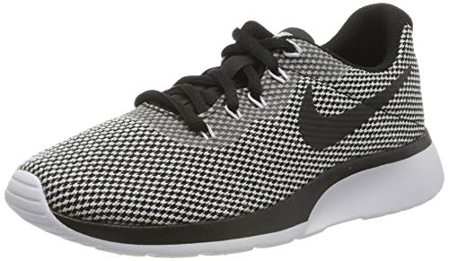 Nike Wmns Tanjun Racer, Zapatillas de Running para Mujer, Negro (Black/White 005), 43 EU