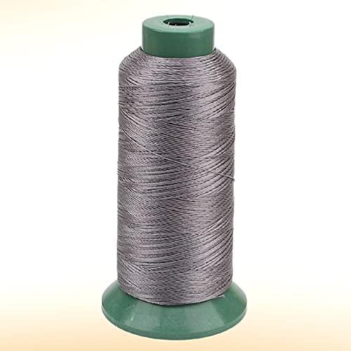 JKGHK Hilos De Coser Hilo De Poliéster para Coser Y Tejer, Adecuado para Coser Ropa, Hay 10 Colores para Elegir,Gris