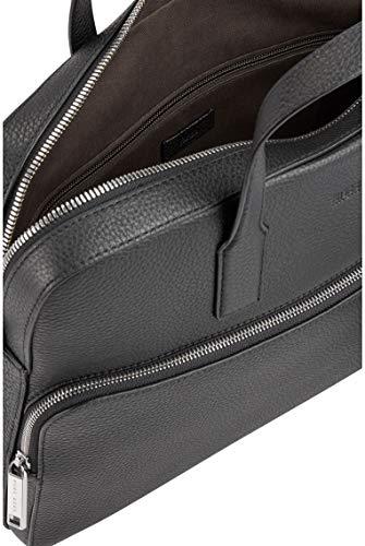 BOSS - Crosstown_s Doc Case, Bolsas para portátil Hombre, Negro (Black), 8.5x30x38 cm (B x H T) 6