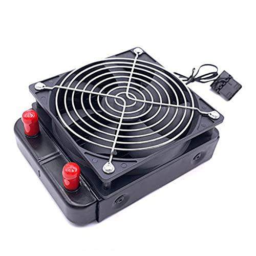 Cmstop Radiador de refrigeración por Agua de 120mm CPU 18 Tubos Enfriador de Ordenador Disipador de Calor Ventilador de refrigeración del radiador para PC Accesorio de refrigeración