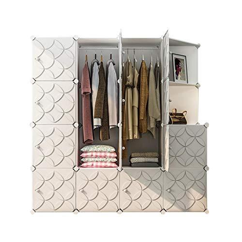 Kledingkast Eenvoudige Huis Moderne Minimalistische Stof Opslag Kast Verhuur Kamer Met Ophangen Economische Vergadering FANJIANI