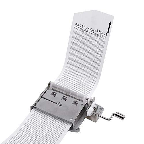 Kit Creatore Di Carillon 30 Note, Materiale Di Qualità, Carillon A Manovella, Regali, Decorazioni Per La Casa, Facile Da Realizzare, Parte Del Movimento + Perforatore + 3 Strisce