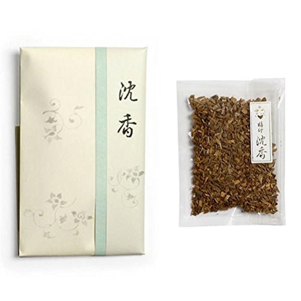 調和抜け目がない衰える香木 竹印 沈香 刻(きざみ) 5g詰 松栄堂