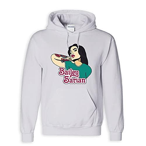 Bailey Sarian Merch Suspish Flames Women Young Kid Tshirt Long Sleeve Sweatshirt Hoodie Merchandise Clothing Anime Shirt Black