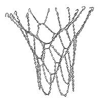 Abbraccia 亜鉛メッキ鋼製の12ループバスケットボールネット内縁外ループ - ゴールデン, 説明したように