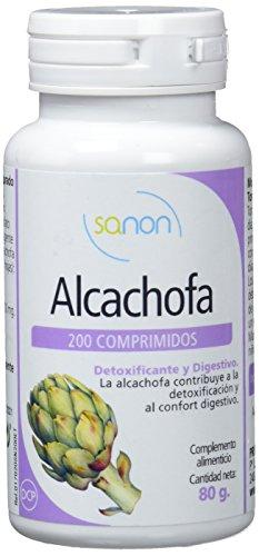 Sanon Alcachofa, Complemento Alimenticio, 200 Comprimidos, 400 mg