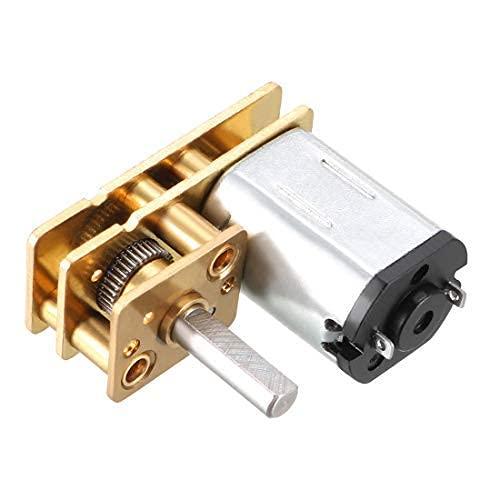 Fingerorthese.LQ DC 12V 1000RPM Micro Motor de reducción de Velocidad Motor de Caja de Engranajes para Coche RC Modelo de Robot DIY Motor de Juguete (Color : Default)