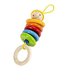 Colorful Dangingling Baby Rattle