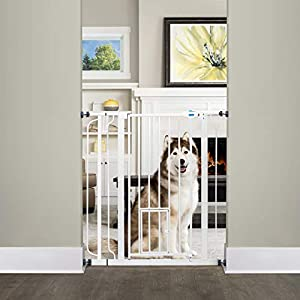 baby gates that allows pets to move freely around the house
