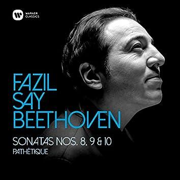 """Beethoven: Piano Sonatas Nos 8, """"Pathétique"""", 9 & 10"""