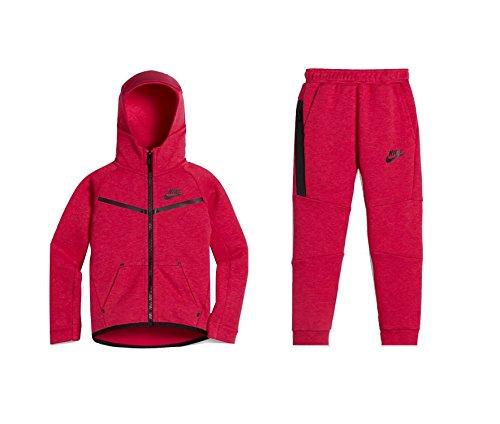 Nike Baby Girl's Tech Fleece 2-Piece Toddler Set Rush Pink 76B400-A5L-NE (US 2T)
