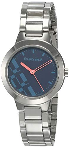 Fastrack Analog Blue Dial Women's Watch-NK6150SM03