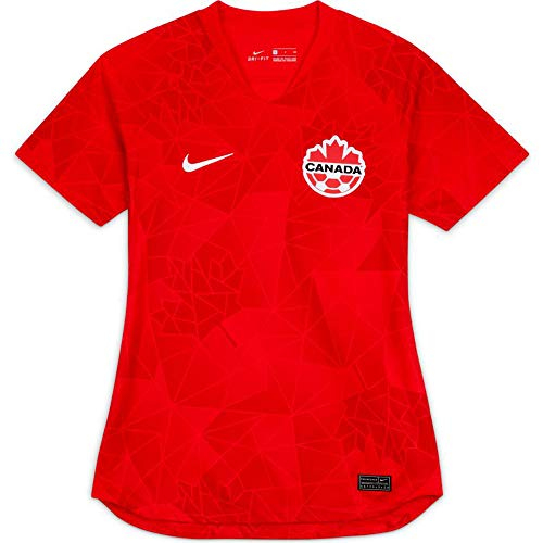 Nike Canada Home Women's Stadium Soccer Jersey- 2020/21 (Large) Red