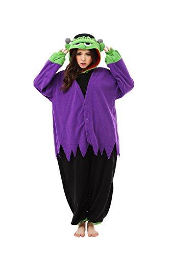 Forro polar Pijama Kigurumi–Frankenstein Monster