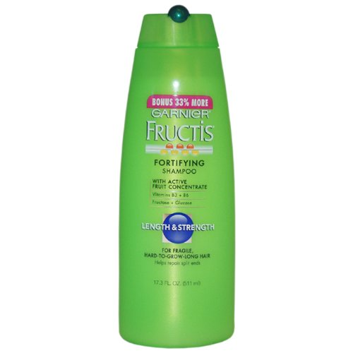 Fructis fortifying Length and Strength fortifying Shampoo By Garnier for Unisex, 17.3 Ounce