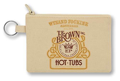 Hot Tubs Amsterdam Fancy Vintage Collection Portemonnee met ritssluiting