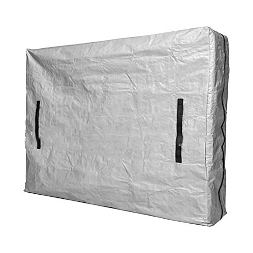 Teeyyui Bolsas de colchón, funda de colchón para movimiento, impermeable y protector solar reutilizable funda protectora con asas, para uso interior y exterior (CRIB)