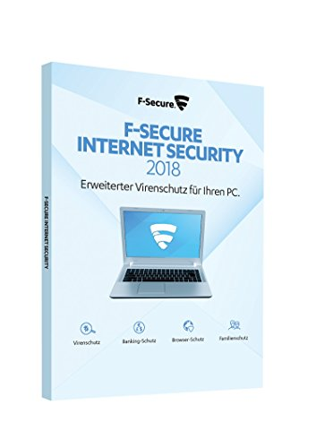 F-Secure Internet Security 2018 - 1 Jahr / 1 PC