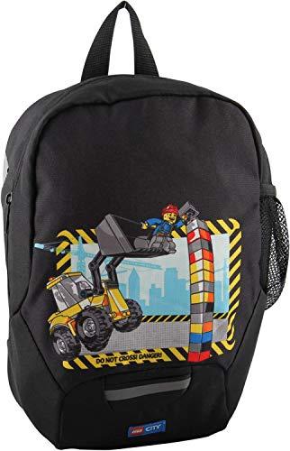 LEGO Bags Lego Bags kleuterschool rugzak, lichte kinderrugzak, voorschoolrugzak met Lego City motief kinderrugzak, 32 cm