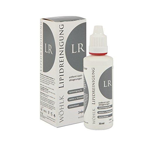 Wöhlk LR Lipidreiniger, 30ml Reiniger für Kontaktlinsen