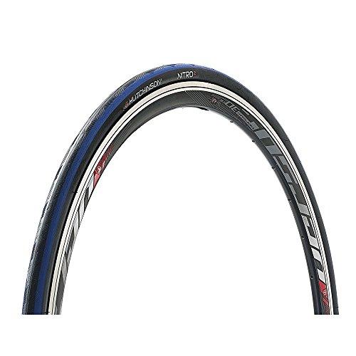 Hutchinson Unisex– Erwachsene Nitro 2 Fahrradreife, schwarz/blau, 28 Zoll