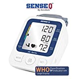 SenseQ by Accusure High Accuracy Blood Pressure Monitor / Gauge with WHO classified Indicator
