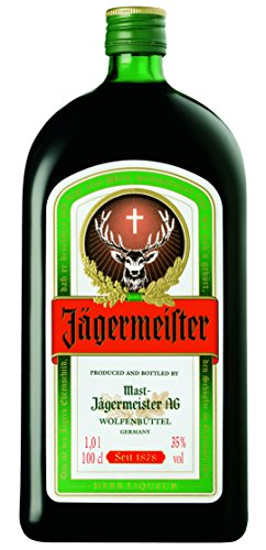 Licor jägermeister botella 100 cl (35% vol)