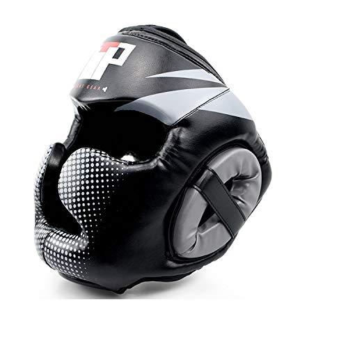 Essential Professional Boxing MMA Kickboxing Head Gear (Gray, L/XL)