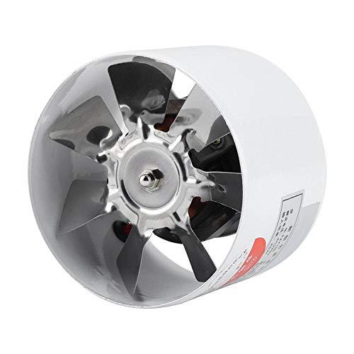 GOTOTOP Ventilador de Escape de Cocina de 30 W 220 V, Ventilador de Escape montado en la Pared de bajo Ruido para ventilaciones del hogar, ático, Cocina, baño, sótano