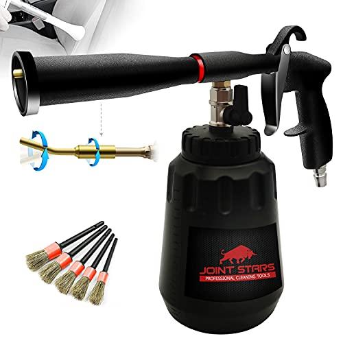 JOINT STARS High Pressure Car Cleaning Gun Jet Cleaner High Pressure Cleaner Car Interior Detailing Kit High Pressure Car Cleaning Tool for Detailing Supplies,