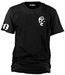 Wolkenbruch - Camiseta de calavera con 13 calaveras Tallas: de la M a la XXXXL.