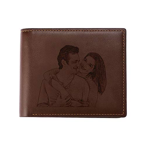 Custom Engraved Photo Wallet