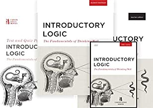 Introductory Logic - Full Bundle (Student Text, Teacher's Edition, Exam Pack, and DVD course)