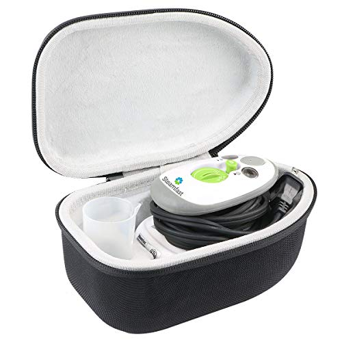 khanka Hard Travel Case Replacement for Steamfast SF-717 Mini Steam Iron (Black)