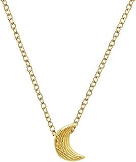 Delicate Koa Textured Necklace