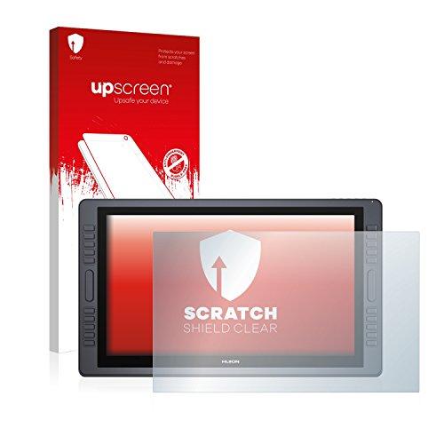 upscreen Protector Pantalla Compatible con Huion Kamvas Pro 22 Película Protectora – Transparente, Anti-Huellas