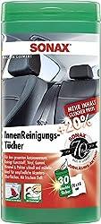 SONAX InnenReinigungsTücher Box (30 Stück) zur schnellen, einfachen und gründlichen Reinigung aller Flächen im Fahrzeuginnenraum | Art-Nr. 04122000