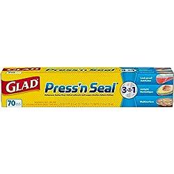 Glad Press'n Seal Plastic Food Wrap - 70 Square Foot Roll