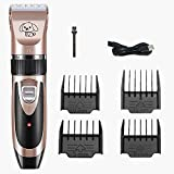 VASLON Professional Dog Grooming Clippers Set Electric Dog Trimmers Clippers Cordless Low Noise