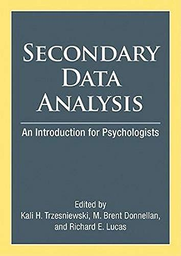 Secondary Data Analysis (An Introduction for Psychologists)