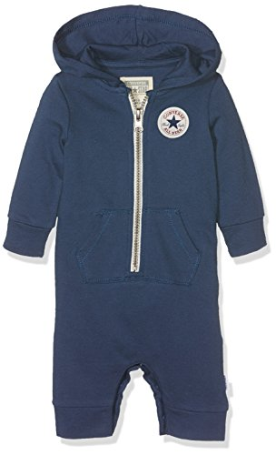 Converse Baby-Mädchen C.T.P Core Coverall Hoodie Kapuzenpullover, Blau (All Star Navy B9P), 74