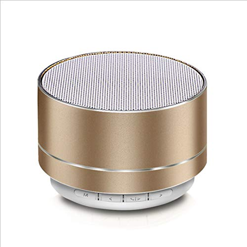 STECKDOSE Ultra Mini Altavoz inalámbrico Lámpara LED Bajos mejorados Sonido HD Micrófono Incorporado Altavoz inalámbrico Adolescentes Niños Niños Hombres Mujeres Color Opcional Altavoz inalámbrico