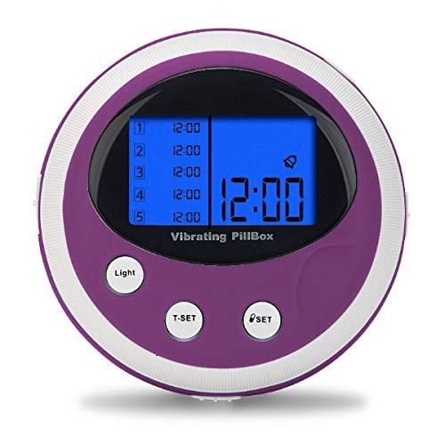 scala Pillenbox 6 Fach, 5 Alarmzeiten blau, 94 g