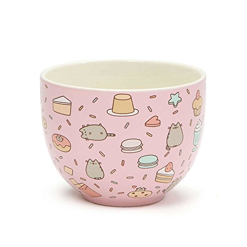 "Pusheen by Our Name is Mud ""Snack Bowl"" Stoneware Bowl"