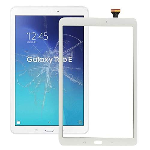 un known Reparación renovación por Teléfono Panel táctil para el Accesorio Galaxy Tab E 9.6 / T560 / T561 (Color : White)