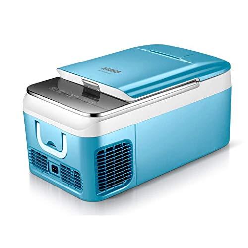 AOLI Autokühlschrank, elektrisch betriebener tragbarer Kühler, Auto-Mini-Kühlschrank mit Gefrierfach - 12 V / 24 V Gleichstrom und 110-220 V Wechselstrom,12V-24V Auto,18 L