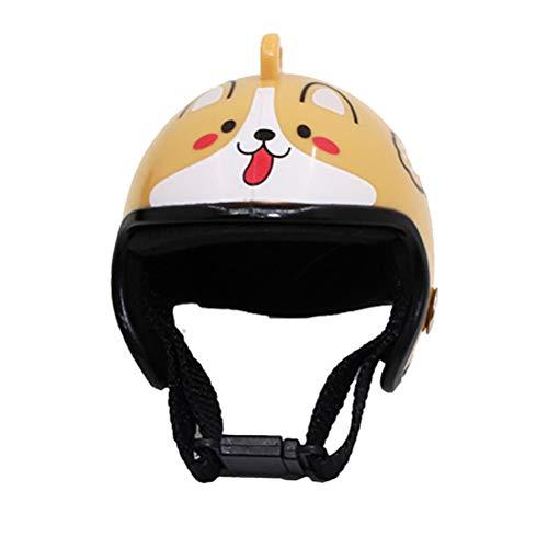 Amiispe Casco de Mascota Casco de Pollo Sombrero de Mascota Disfraces de Juguete Accesorios Casco de Aves de Corral
