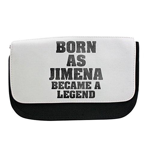 Born as Jimena, se convirtió en un estuche para lápices, bolsa de maquillaje, multibolsa