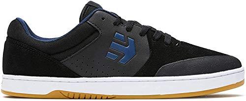 Etnies Marana - Zapato de patinaje, Negro (Negro/Azul), 44 EU